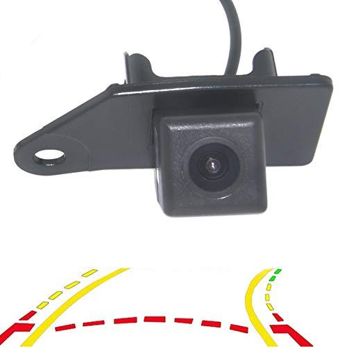 QWERQF Trayectoria dinámica Inteligente Sigue la cámara del Sistema de estacionamiento del Espejo retrovisor con la línea de estacionamiento de la guía en Movimiento,para Mitsubishi ASX