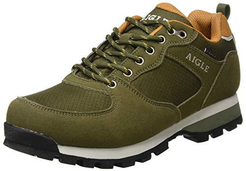 Aigle Herren Plutno MTD Sneaker, Khaki Safran, 43 EU
