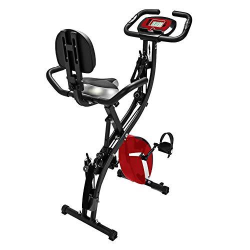 AINY Ciclismo Indoor Bicicleta Estática,Bicicletas Plegables Ejercicio Compacto,Inicio Aeróbico Gimnasio Bicicleta Bicicleta...