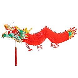 3D Chinese New Year Dragon Garland Hanging Decoration