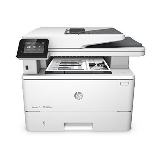 HP LaserJet Pro Laserprinter (printer, LAN, AirPrint) wit Duplex + wifi. 4-in-1 wit