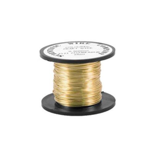 Charming Beads Rame Filo d'oro Placcato 6M Rotolo 0.8mm Spessore