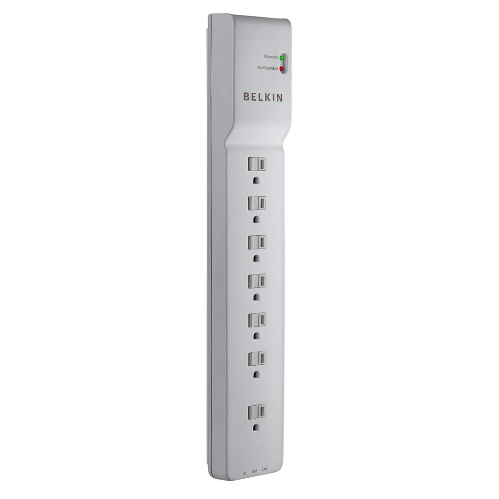 Belkin 7 Outlet Office Protector BE107200 06