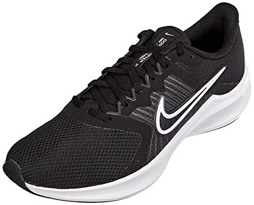 Nike Downshifter 11, Scarpe da Corsa Uomo, Black/White-Dk Smoke Grey, 42.5 EU