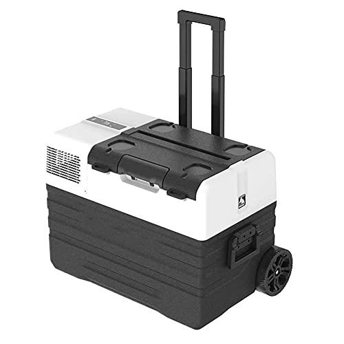 Yangyang Frigo Freezer Portatile A Compressore, 42 L, Mini Digitale Frigo per Auto,Camion Barca Campeggi,Barca E Camper, 12/24 V E 230 V, Raffreddamento A -18 °C