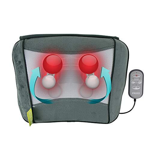 HoMedics Shiatsu Massage Pillow, All-Purpose Deep Kneading Shiatsu Massager...