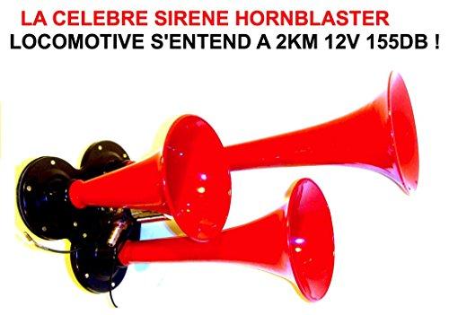Unbekannt versteht Sich hat 2km. hornblaster Hupe Lokomotive 12V 3Frau rote 165db. Die berühmte hornblaster. Leistung unglaublich. RAID Preparation 4x 4