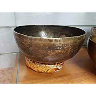 Singing Bowl 7Metals 26cm Stand and Beater