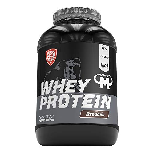 Mammut Nutrition Whey Protein Brownie, 3000 g