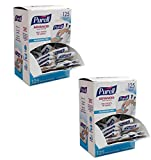 PUREL SINGLES Advanced Hand Sanitizer Gel – 125 Count Single Use Packets with Display Box - 9620-12-125EC- 2 Pack