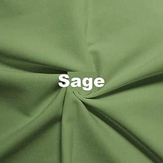 Wonderful Ponte DE Roma Jersey Knit Spandex Fabric by The Yard APPARELDRESS 2 Way Stretch (Sage)