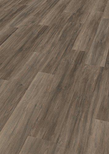 EGGER Home Laminat braun Holzoptik - Ampara Eiche grau EHL090 (7mm, 2,481 m²) Klick Laminatboden   Bodenbelag