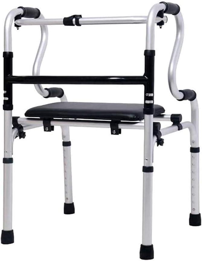 Walker for Seniors Cheap super special price Rollator Folding Topics on TV Frame Walking Lightwe