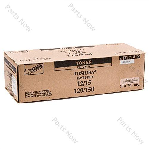 Toshiba t-1200e Kartusche 8000Seiten schwarz–Tonerkartuschen und Laser (schwarz, Toshiba e-studio 120/150, 1Stück (S), Laser Cartridge, 8000Seiten, Laser)
