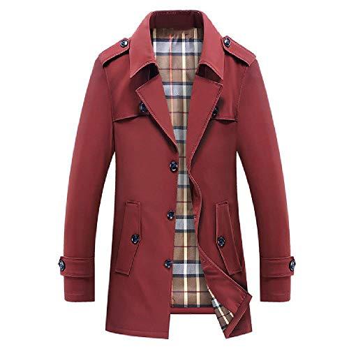 Mens Fleece Warm Chaqueta Abrigos Masculino Casual Espesar Sólido Windbreak Invierno Outwear