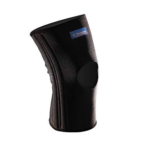 Verstärkte Neopren-Kniebandage von Thuasne Sport - Schwarz - Größe XL