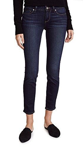 PAIGE Denim Women's Transcend Verdugo Ankle Skinny Jeans, Nottingham, Blue, 26