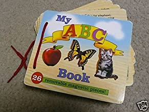My ABC Book (26 Removable Magnetic Pieces! Melissa & Doug's Classic Wooden Toys)