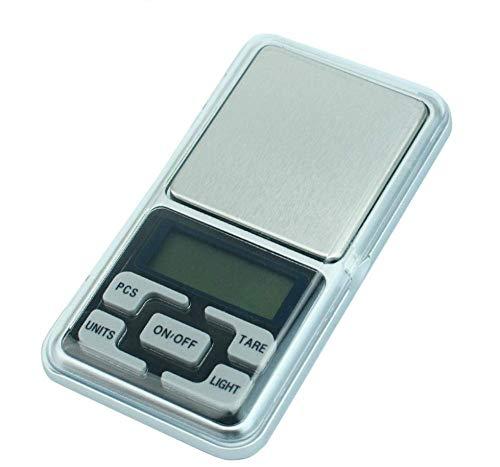 GPWDSN Báscula Digital accuweight, Báscula de Bolsillo Digital Báscula electrónica de joyería 0.01G Báscula electrónica de Alta precisión Báscula de Palma Báscula de Bolsillo portátil -300G /