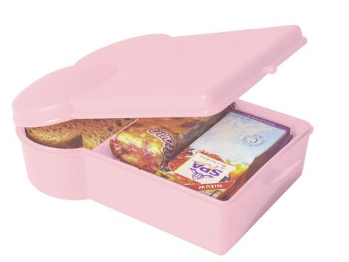PT HOME NL017LP Lunchbox Sandwich, Hellrosa