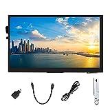 Ingcool Pantalla 7 Pulgadas Táctil Capacitiva Monitor Pantalla IPS con Resolución 1024x600 Módulo LCD HDMI de 7' para Raspberry Pi, Jetson Nano Developer Kit, PC Compatible con Varios Sistemas