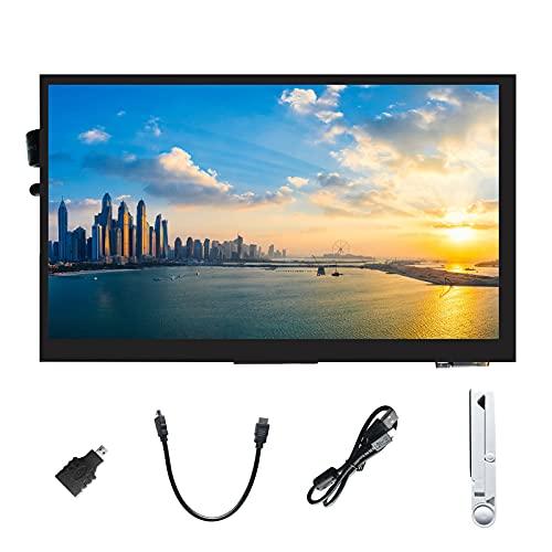 """Ingcool Pantalla 7 Pulgadas Táctil Capacitiva Monitor Pantalla IPS con Resolución 1024x600 Módulo LCD HDMI de 7"""" para Raspberry Pi, Jetson Nano Developer Kit, PC Compatible con Varios Sistemas"""