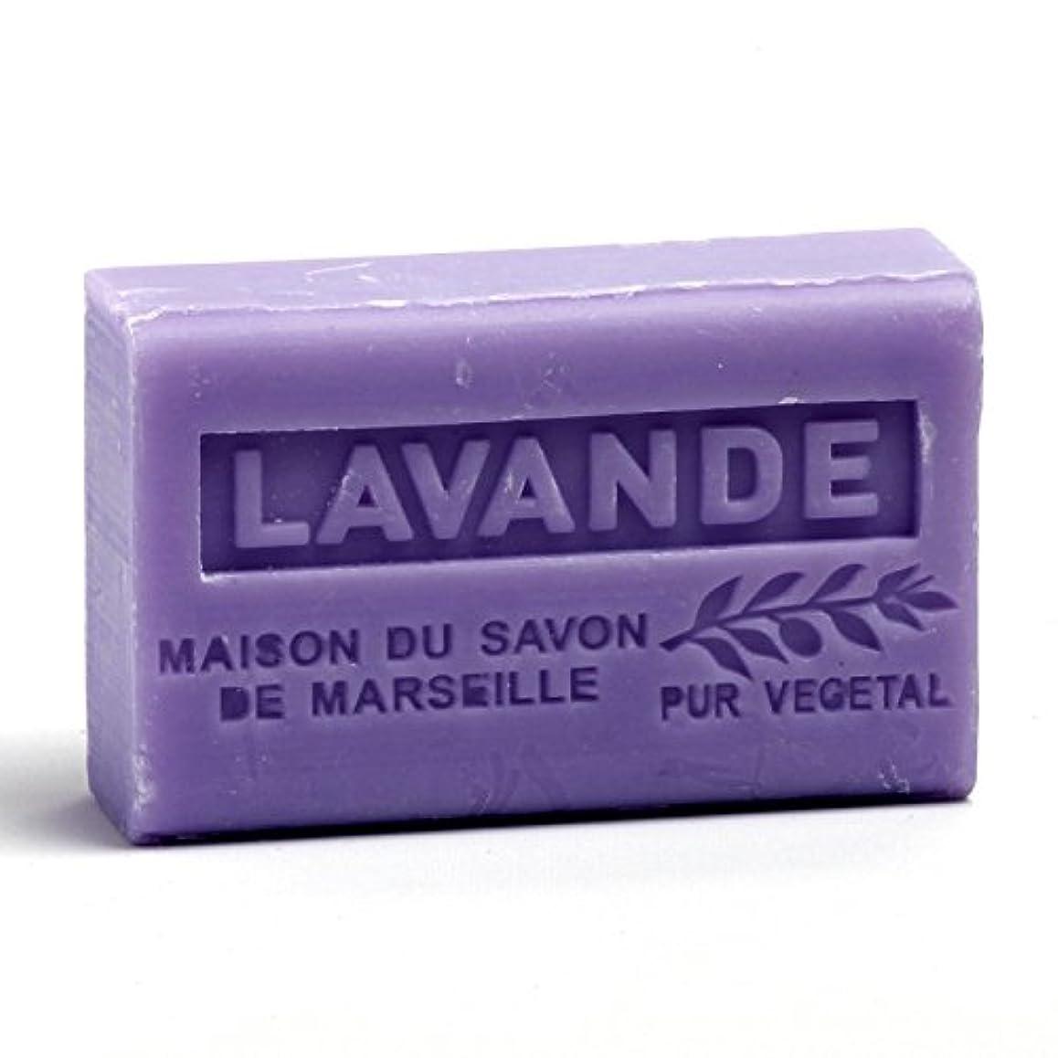 落ち着く害闘争Savon de Marseille Soap Lavender Shea Butter 125g