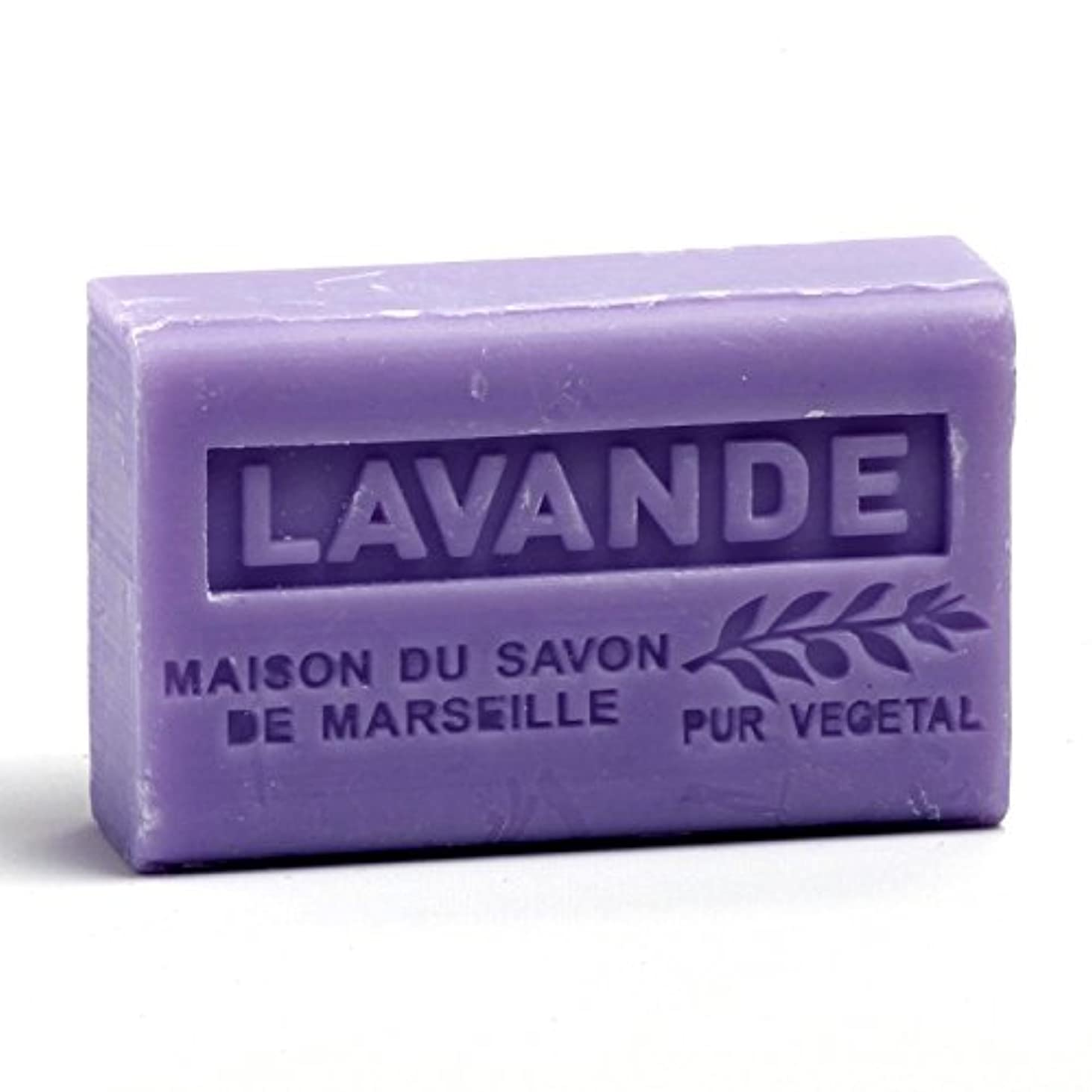 砲兵シマウマ関係Savon de Marseille Soap Lavender Shea Butter 125g