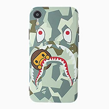 FunCase Fanke iPhone XR Case,IMD Sleek Smooth Texture Anti Scratch Non Faded Coloring Premium TPU Slim Fit Soft Cover for 6.1 iPhone-XR with Street Fashion Trend Design  ShaYu Monkey White