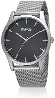 Zyros Dress Watch For Men Analog Stainless Steel - ZY0004