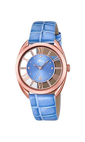 Lotus Reloj de Cuarzo para Mujer con Piel 18226/2