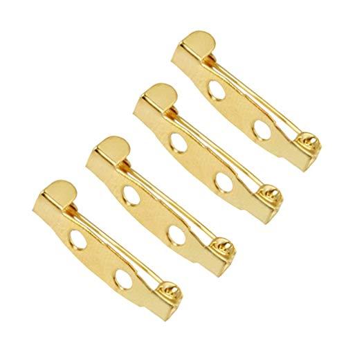 LIXBD, 200 spille a tre fori di sicurezza per gioielli, fai da te, 1,5 cm (dimensioni: 2 cm)