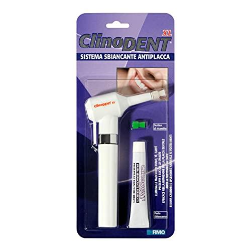 Clinodent XL. Smacchiatore e Sbiancante dentale elettrico a collo lungo, Testina di ricambio