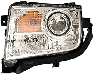 New Left Driver Side Halogen Head Light For 2007-2010 Lincoln MKX Assembly Without Adaptive Lights FO2502260 B077GHKX39