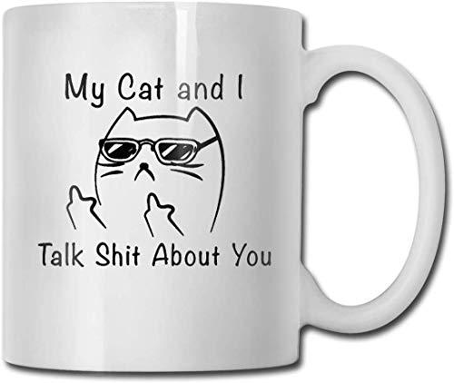 Taza de café divertida con texto en inglés