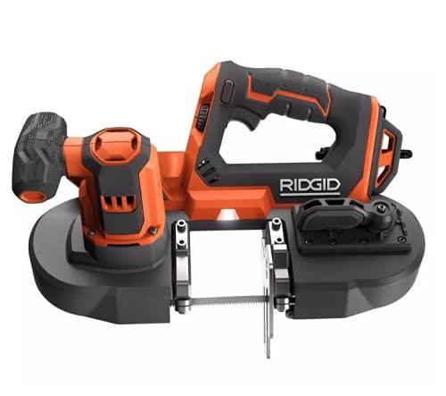 RIDGID - 18-Volt Compact Band Saw - R8604B - Tool Only