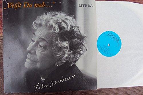 Weißt du noch.. Durieux im Gespräch mit Herbert Ihering und Rolf Ludwig. Tilla Durieux. Mono