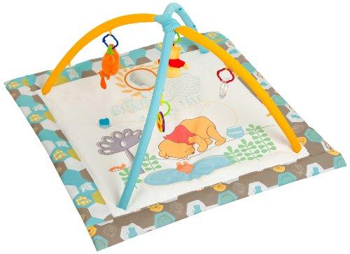 Disney / Hauck 77509 Spieldecke mit Spieluhr und Spielbogen, bunt und Disneymotiv