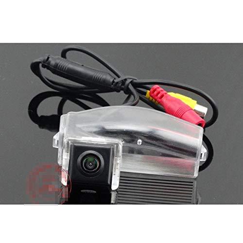 QWERQF Prenda Impermeable de la cámara de Respaldo del Coche de la cámara de visión Trasera del Coche de la visión Nocturna,para Mazda 2/3