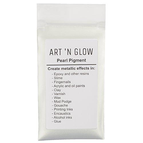Mica Pearl Pigment Powder (Pearl Wh…