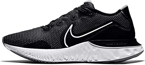 Nike Renew Run Mens Running Trainers CK6357 Sneakers Shoes (UK 10.5 US 11.5 EU 45.5, Black Metallic Silver White 002)