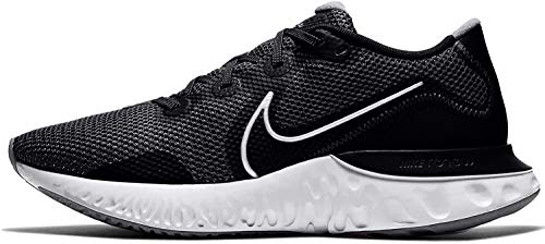 Nike Renew Run, Zapatillas para Correr para Hombre, Black/Metallic Silver/White, 46 EU