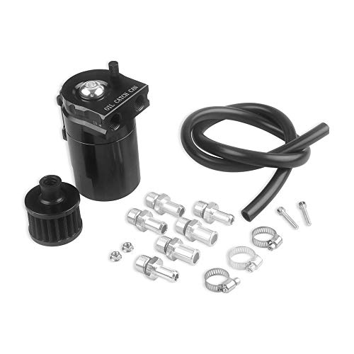 KKmoon - Filtro Universal de Aceite con Filtro de Aire para Motor de Aire, Separador de depósito, depósito de Aceite