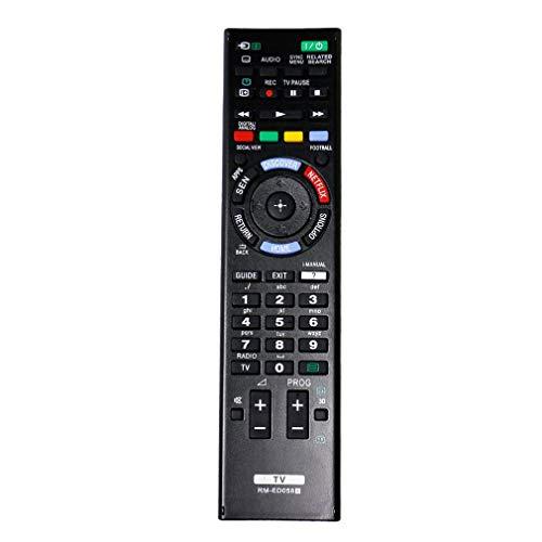 VINABTY RM-ED058 Fernbedienung für Sony ersetzen KD-49X8505B KD-75S9005B KD-55X8505B KD-79X9005B KD-65X8505B KD-65X9505B KD-70X8505B KD-85X9505B KDL-55W955B KDL-65W955B KD-55X9005B KD-65S9005B