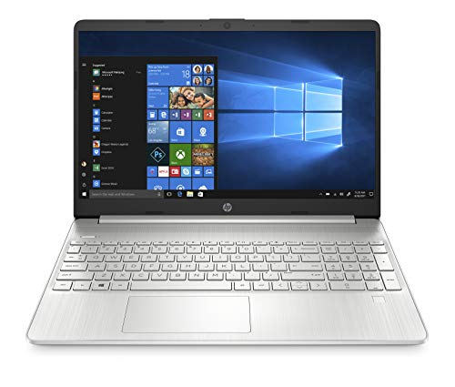 HP - PC 15s-eq1001sl Notebook, AMD Ryzen 7 4700U, RAM 8 GB, SSD 512 GB, Grafica AMD Radeon, Windows 10 Home 64, Schermo 15.6  FHD Antiriflesso, Lettore impronte digitali, Webcam, HDMI, USB-C, Argento