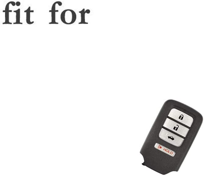 SEGADEN Silicone Cover Protector Case Holder Skin Jacket Compatible with HONDA 3+1 Hold Button 4 Buttons Smart Remote Key Fob CV4210 Red
