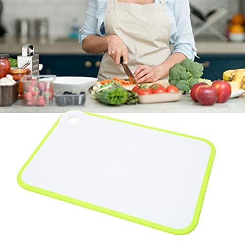 Deska do Krojenia, Kuchenny Plastikowy Blok Rzeźniczy Zielona Antypoślizgowa Deska do Krojenia do Krojenia Warzyw i Owoców