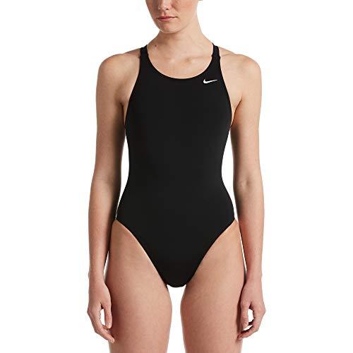 Nike Fastback One Piece Badeanzug für Damen L Schwarz