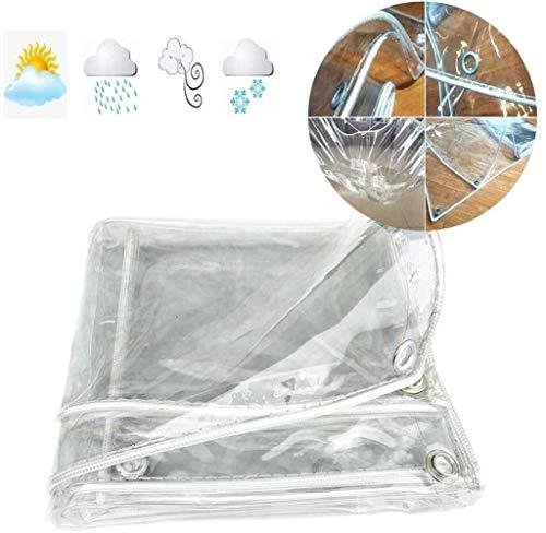 MSF dekzeil glas helder dekzeil zachte PVC tent Tarps waterdichte sneeuw bescherming houden warm zware luifel cover voor auto tuin outdoor