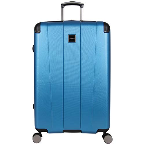 "Kenneth Cole Reaction Continuum 24"" Hardside 8-Wheel Expandable Upright Checked Spinner Luggage, Vivid Blue"